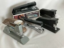 Vintage Staplers Bostitch Swingline Aceliner Choices