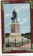 OLD POSTCARD- DEVON - Drake's Statue, Plymouth - Shurey's