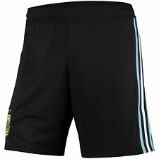Argentina National Team adidas 2018 World Cup Home Shorts - Black