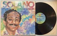 Rafael Solano Y  Su Orquesta - Su Compa LP 1982 Kubaney Merengue VG+/VG