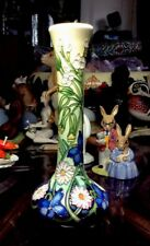 Moorcroft Shakespeare Collection 99/8 Vase By Nicola Slaney First Quality Mint