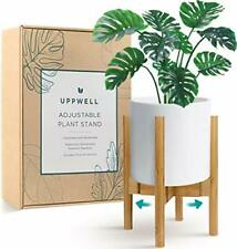 New listing UppWell Plant Stand, Stylish Plant Stands Indoor Plants, Adjustable 8 to 12 Inch