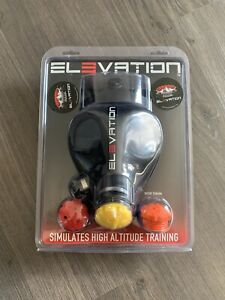 Elevation High Altitude Training Mask Black Full Face Rubber Excellent