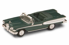 New In Box  Road Signature 1/43 Diecast O Scale 1958 Edsel Citation Dark Green