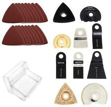 Saxton Blades Accessory Kit for Worx Sonicrafter Hex Drive oscillating multitool
