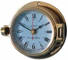Meridian Zero / Channel Brass Clock 18030