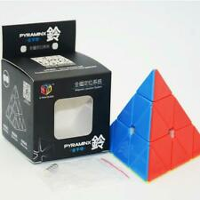 QiYi XMD X-Man Bell Stickerless Magnetic Pyraminx Speed Cube Puzzle Toy