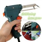 220v 60W Automatic Send tin Soldering Iron Gun Solder Stand Design Work Easier
