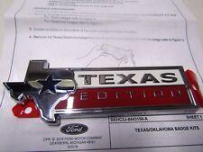 FL3Z8442528A 2015-18 Ford F-150 Texas Edition Tailgate Emblem Nameplate ORIGINAL