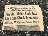 JULY 26 1972 NATIONAL SPEED & SPORTS NEWS car racing newspaper - TRICKLE MAIER