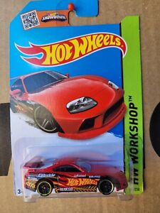 Hot Wheels  2014 - TOYOTA SUPRA [RED] VHTF NEAR MINT CARD GOOD COMBINED POSTAGE