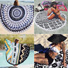 Round Mandala Hippie Boho Tapestry Beach Picnic Travel Throw Towel Blanket Mat