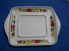 Villeroy & Boch Summerday Butter Plate Platter VITRO-Porzellan W-Germany