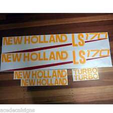 New Holland LS160 LS170 LS180 LS185 LS190 Skid loader decals stickers