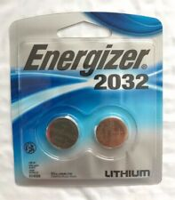 Energizer CR2032 3V Lithium Watch Batteries 2 Pack New Exp. 03/2030