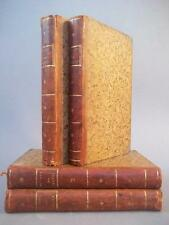 Oeuvres de Nicolas Freret, 4 volumes, Chess, Druids, bindings, 1792