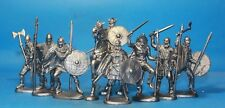 "Viking warriors ""Jarl's guards""  set 1/32 Plastic toy soldiers"
