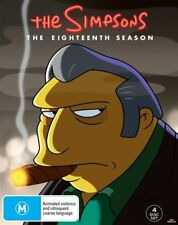 The Simpsons : Season 18 (DVD, 2017, 4-Disc Set), NEW SEALED REGION 4
