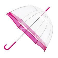 totes PVC Dome Hot Pink Border (PVC)