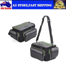 Fishing Tackle Bag Case Lure Boxes Shoulder Strap Storage Pockets Pouch Case AU