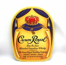 Crown Royal Canadian Whisky 3D Relief Jeweled Wall Hanging Plaque Sign