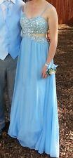 Long bling prom dress