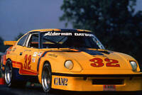 George Alderman in action during a 1970s IMSA GT race OLD RACING PHOTO