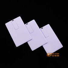4GB 50PCS Credit Card USB Pen Drive Memory Flash Drives Suit for Logo Print
