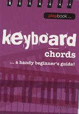 Teclado Acordes un práctico libro de música Mini guía para principiantes