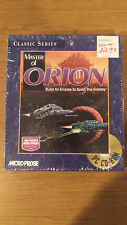 Master of Orion Classic Series Microprose - PC Game CD-ROM - new SEALED