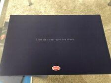 Bugatti Buch Geschichte Katalog Prospekt Brochure Pressemappe Chiron Divo Veyron