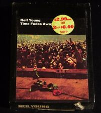 8 Track -Neil Young-Time Fades Away-1973-SEALED!