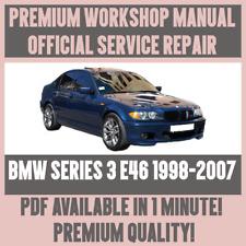 *WORKSHOP MANUAL SERVICE & REPAIR GUIDE for BMW 3 SERIES E46 1998-2007