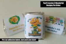 30 HENRY HUGGLEMONSTER BIRTHDAY PARTY FAVORS PERSONALIZED HERSHEY NUGGET LABELS