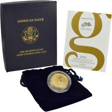2007-W American Gold Eagle 1/10 oz $5 Uncirculated Coin Burnished in OGP