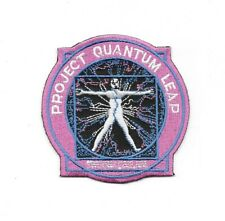 "Quantum Leap Tv Series ""Project Quantum Leap"" Embroidered Patch -new"