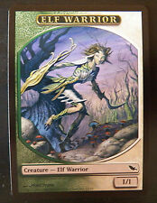 Elf Warrior Token - Card n° 12/12 - Shadowmoor