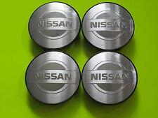 4 Nabenabdeckungen/Radkappen für Alufelgen von Nissan/Ronal