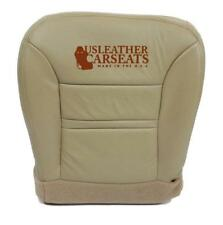 00 2001 Ford Excursion Limited 4X4 Driver Side Bottom Leather Seat Cover Tan