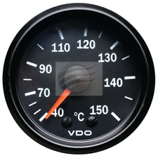 "VDO Mechanical Oil Temperature Gauge 2"" 50-150 Degree Cockpit Series 180077020"