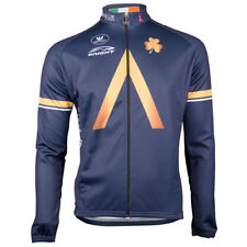 Vermarc Aqua Blue Sport Long Sleeve Cycling Jersey XXXL RRP £82.99