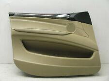 07-13 BMW E70 X5 FRONT LEFT DRIVER DOOR INTERIOR TRIM PANEL OEM 102919