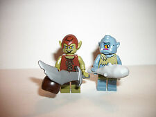 Lego Minifig Figure Minifigure Series Fantasy Ogre Cyclop Lot x2 AUTHENTIC LEGO®