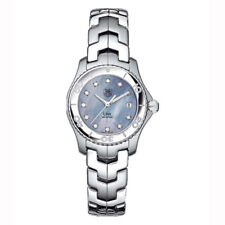 STUNNING TAG HEUER LADIES LINK WJ1317.BA0573 DIAMOND MOTHER OF PEARL WATCH