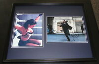 Gina Carano Signed Framed 16x20 Photo Set AW Haywire