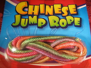 Set of 2 Multi Colored Chinese Jump Ropes