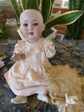 Baby Armand Marseille mold RARE 914 ; 40 cm porcelain biscuit SUPERB