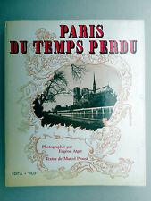 ATGET/PROUST-Paris au Temps Perdu 1985