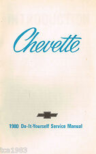 1980 CHEVROLET CHEVETTE Do-It-Yourself SERVICE light repair MANUAL