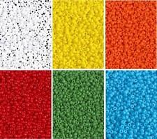 6 Colors Miyuki Round Rocaille Seed Beads Size 11/0 8.5GM Each Opaque 11-CMD2